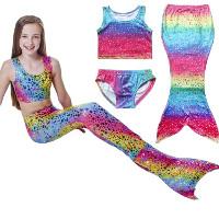 Meerjungfrauenkostüm zum Schwimmen
